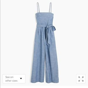 J. Crew Chambray Jumpsuit